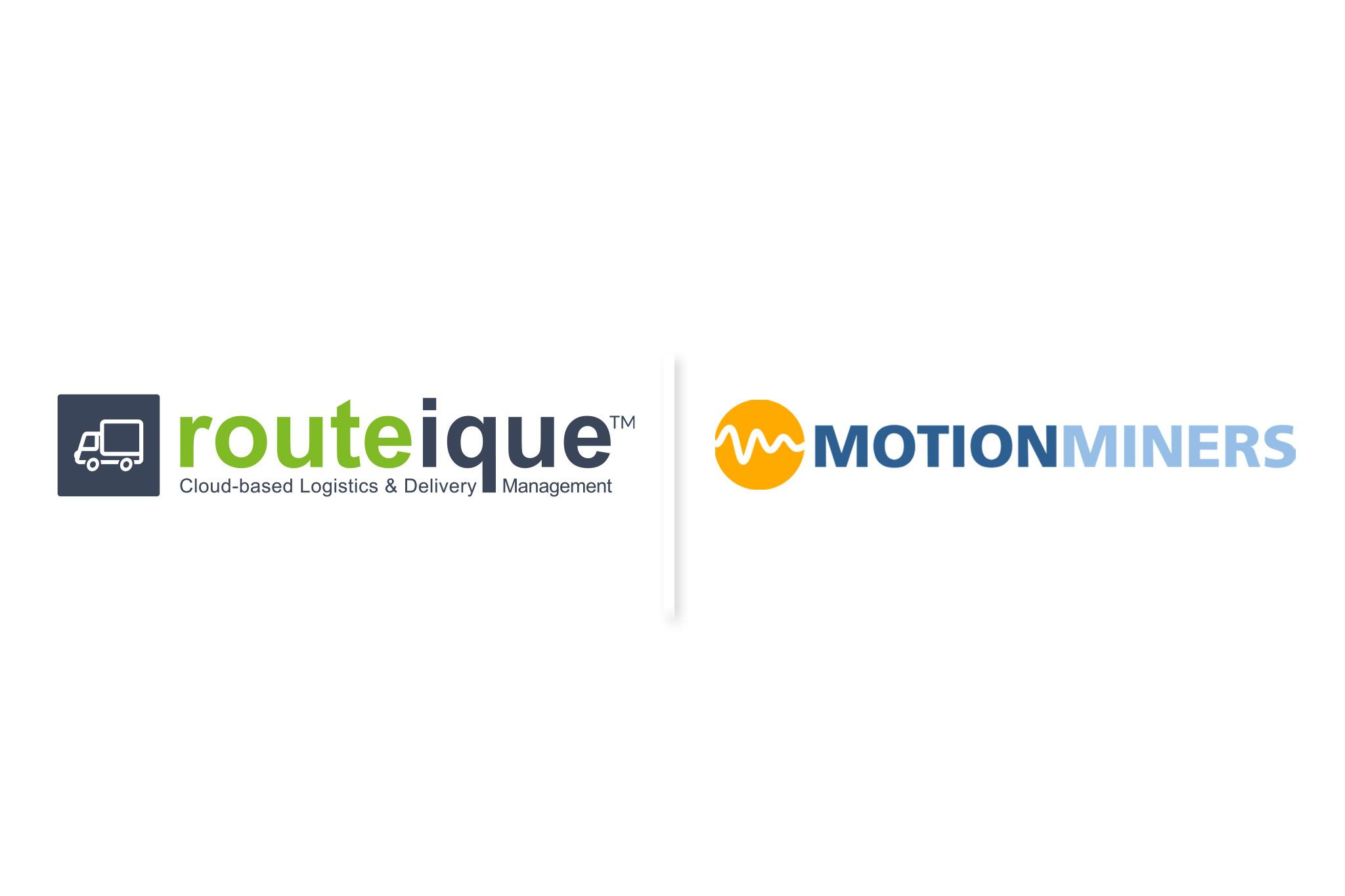 Routeique™ and MotionMiners Announce Partnership
