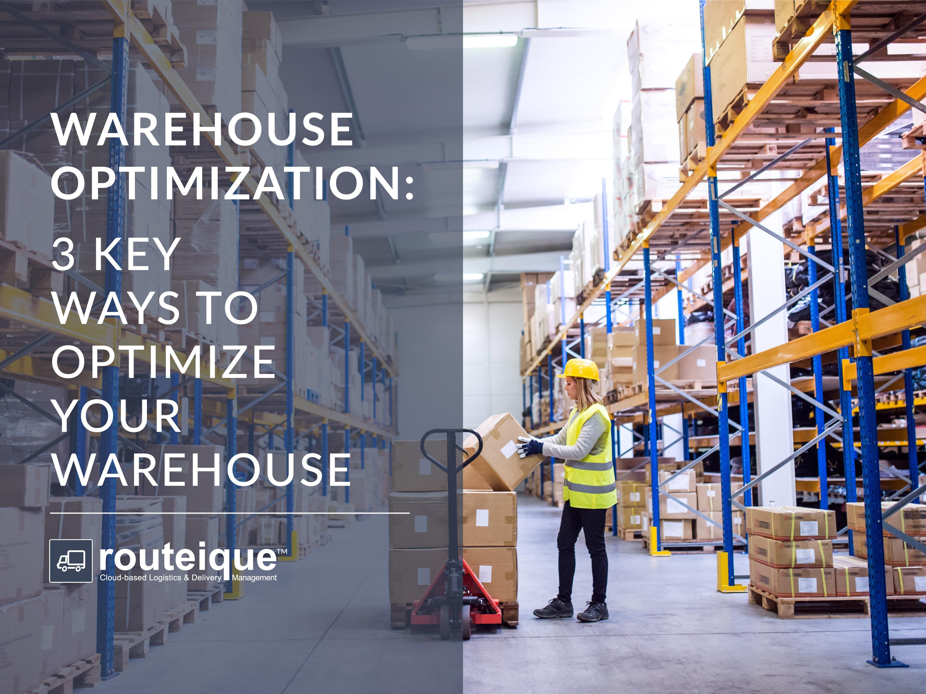 Warehouse Optimization Blog