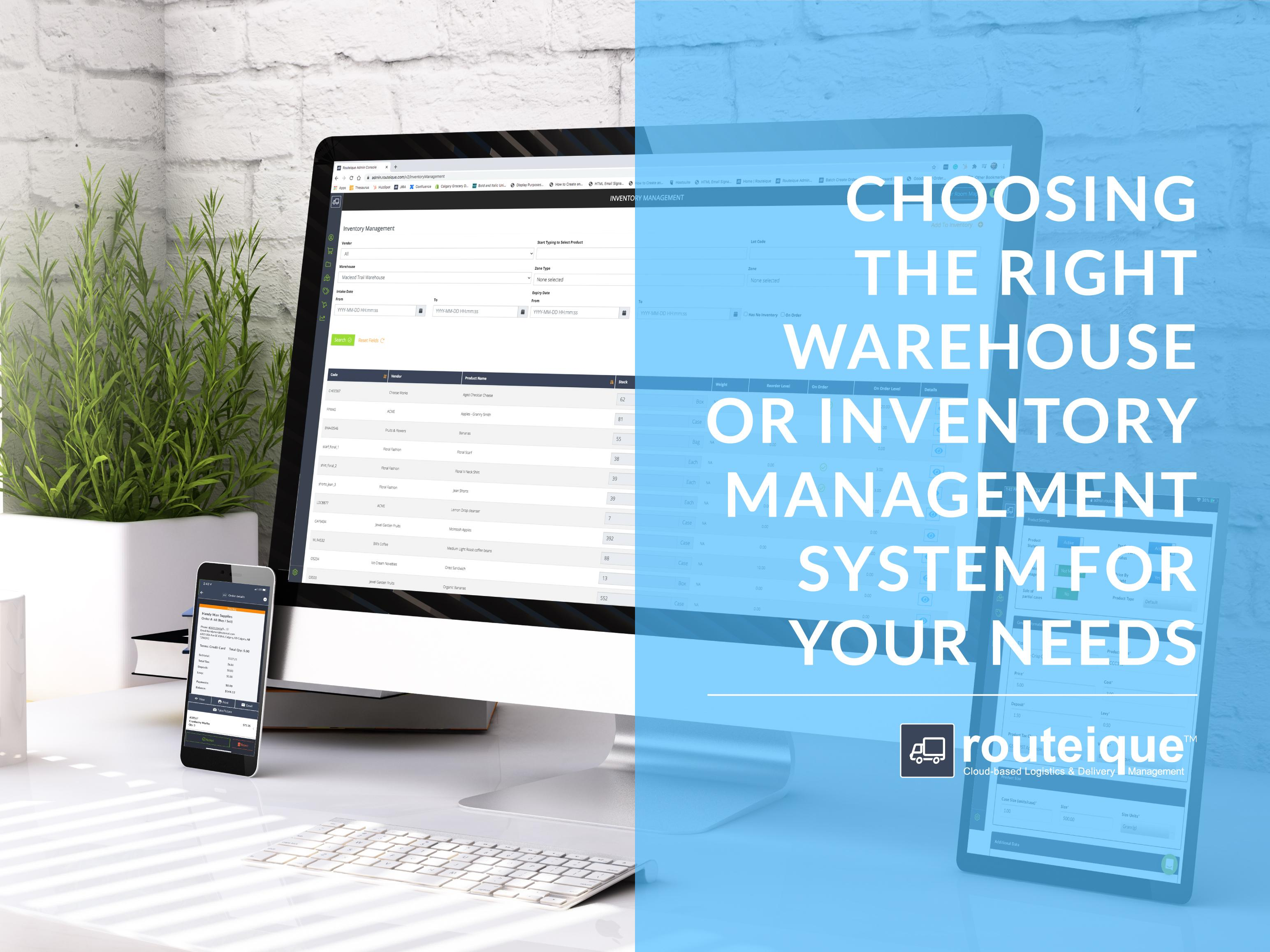 Choosing the Right Inventory Management System Blog