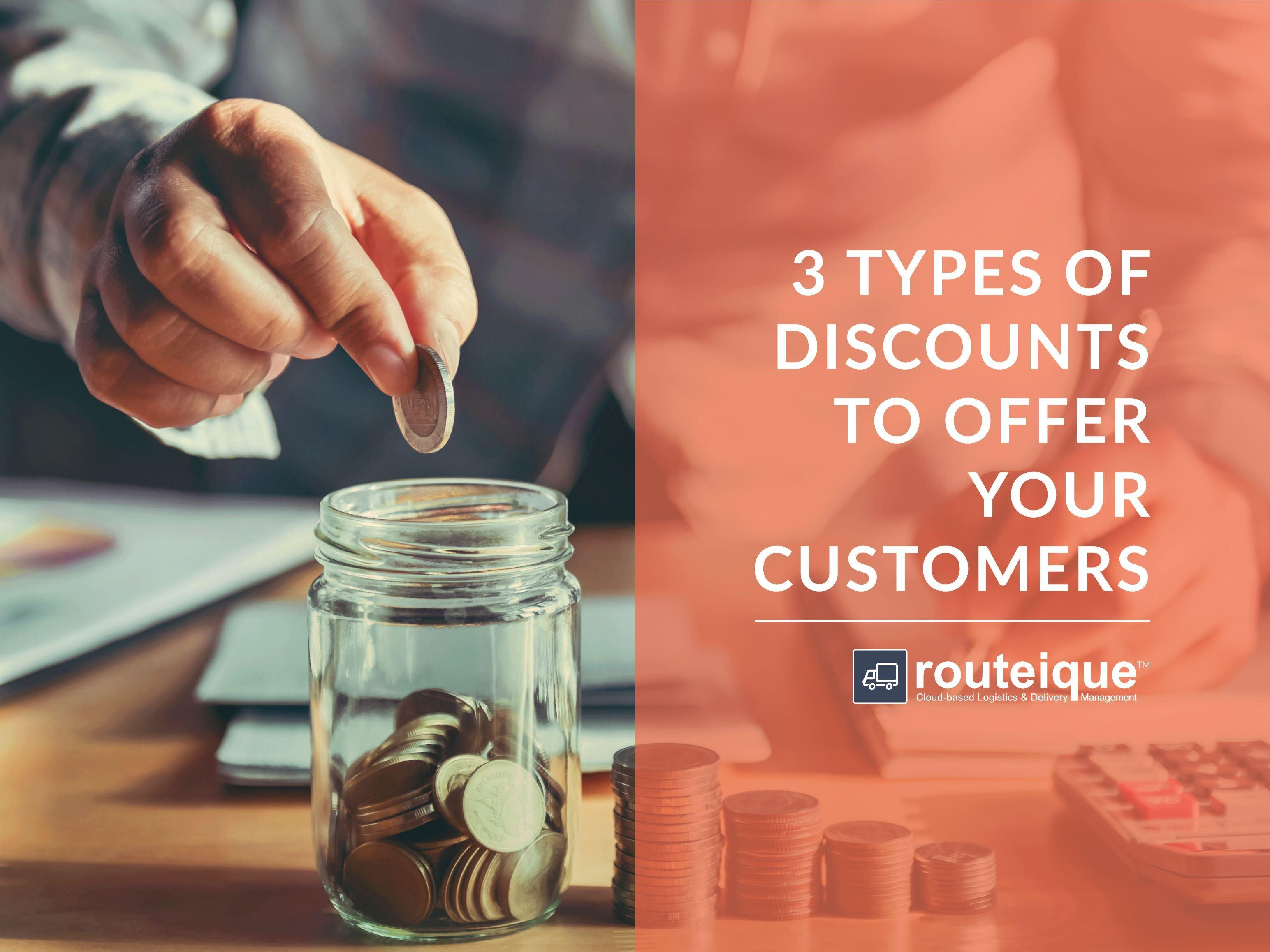 3 Types of Discounts To Give Customers