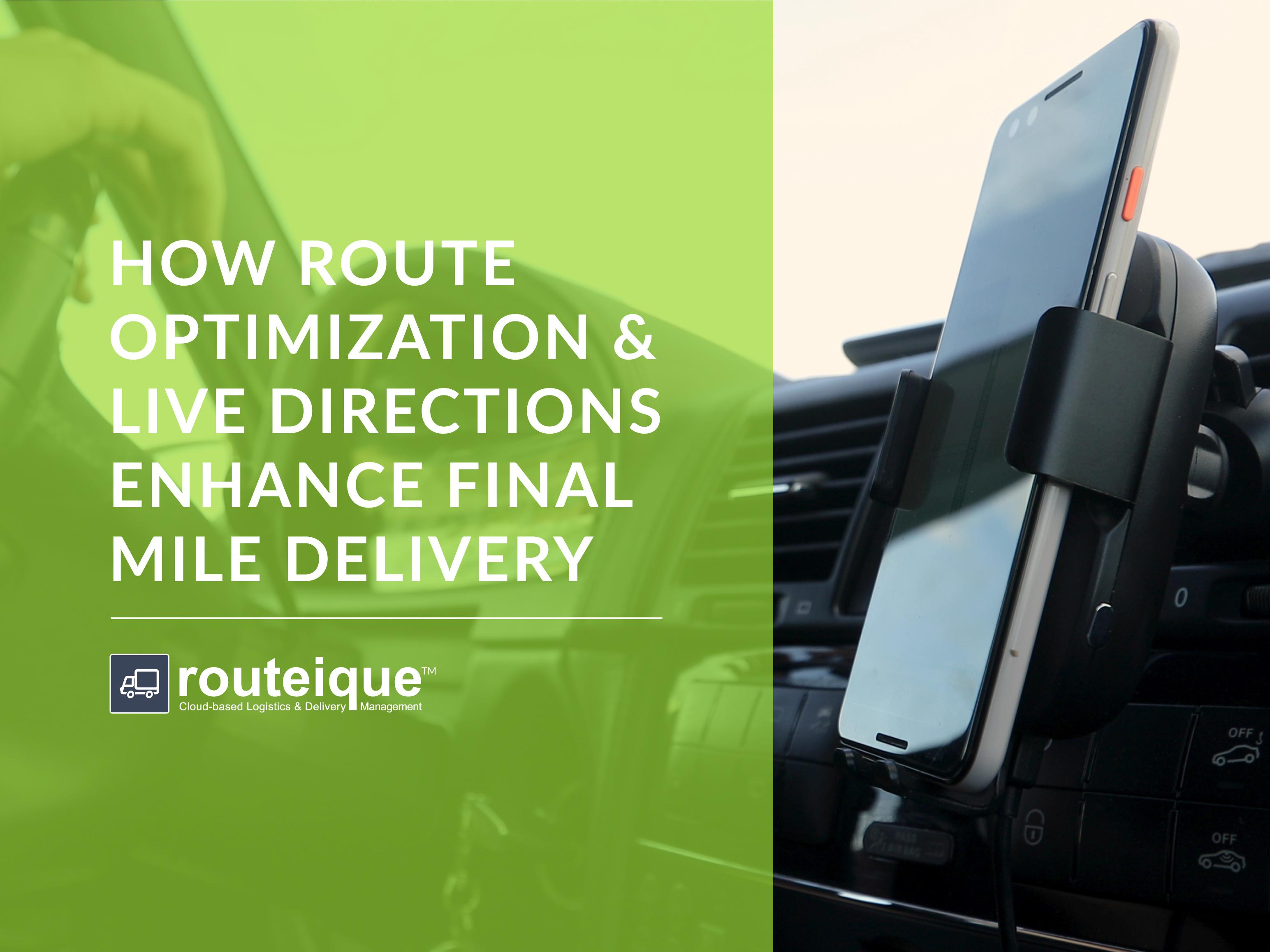 Routeique Blog - Route Optimization and Live Directions