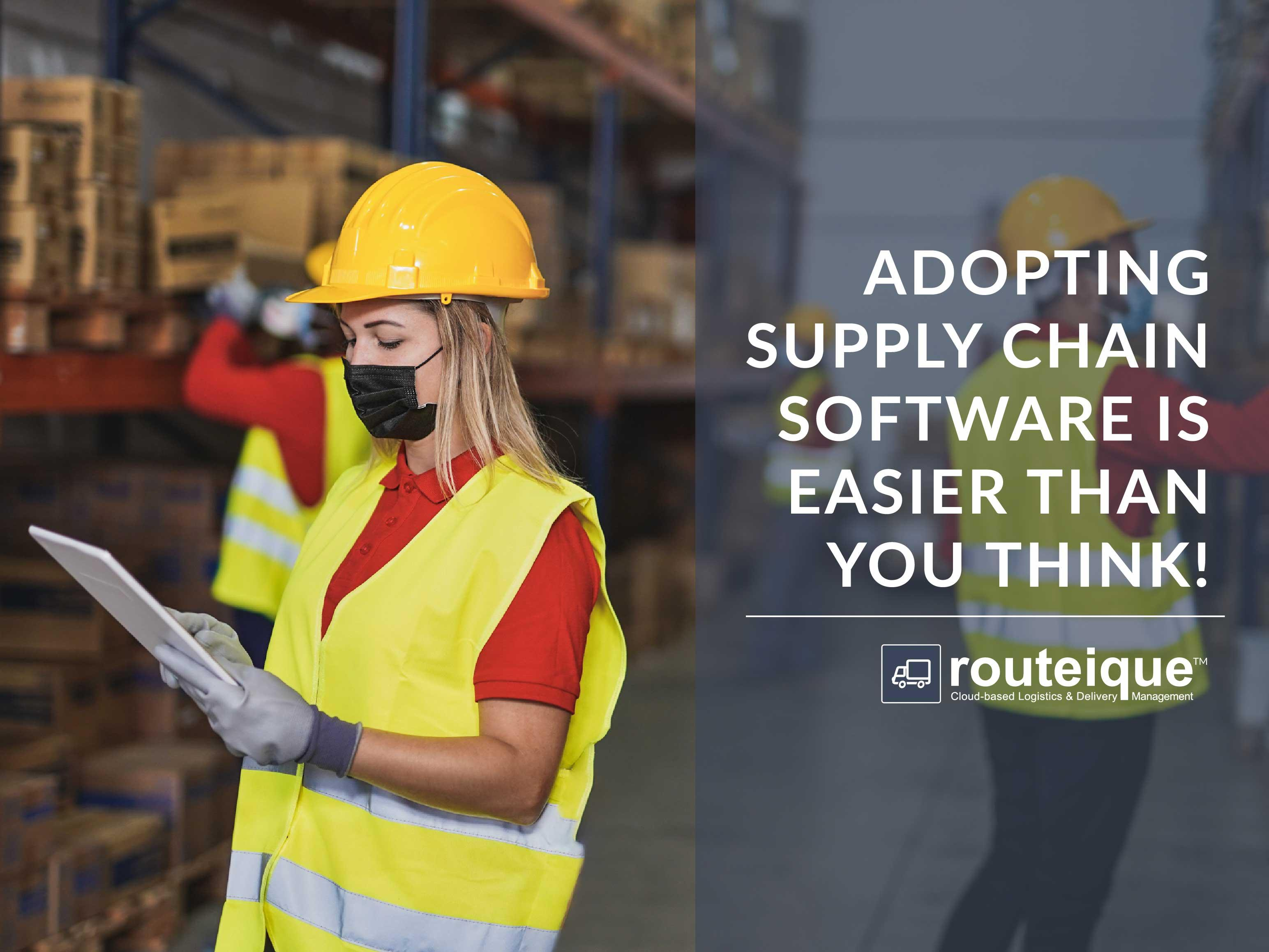 Blog on adopting supply chain technology