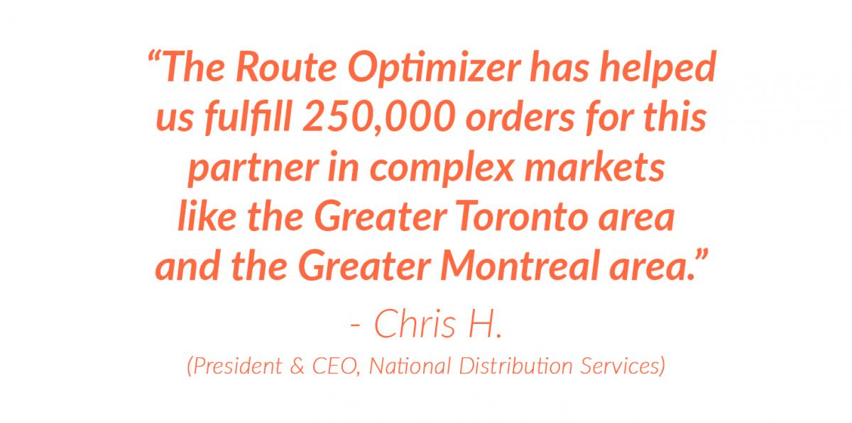 National Distribution Quote