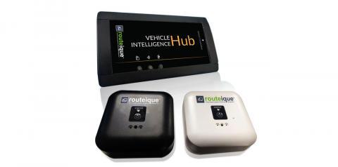 Vehicle intelligence hub and sensor nodes