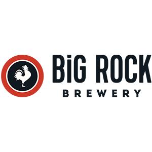 Big Rock. Calgary based, Brewery company logo