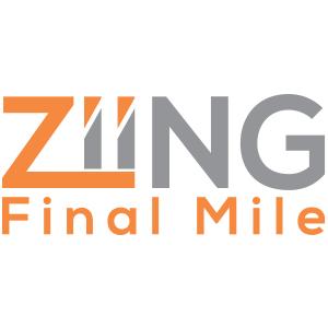 Ziing Final Mile, Calgary Distribution Leader, Logo